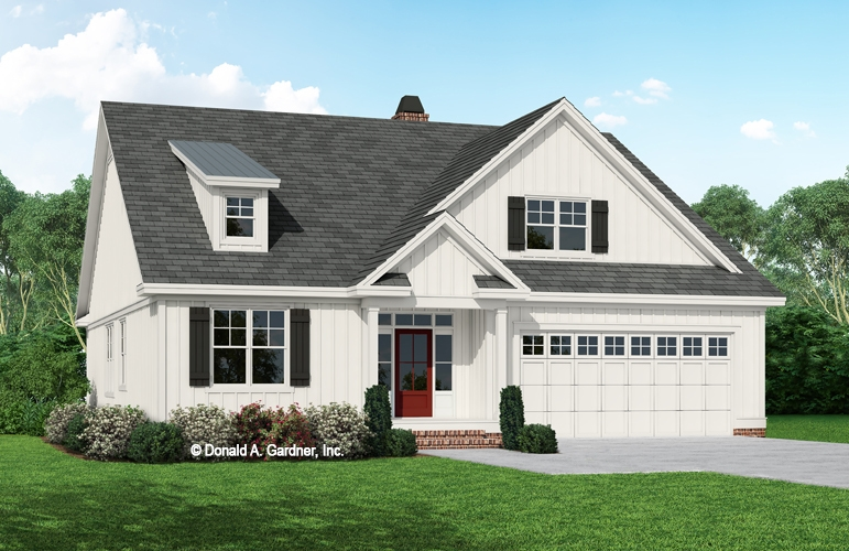 The Jenkins House Plan - 4 Bedroom 3 bath New Construction